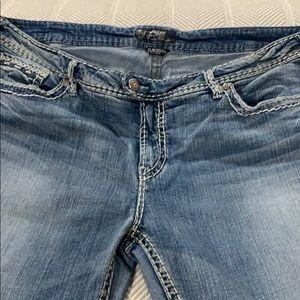 Euc silver jeans women's light wash